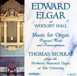 Edward Elgar at Woolsey Hall, Yale University - Thomas Murray