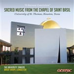 Sacred Music from St. Basil's Chapel / University Singers, Knapp