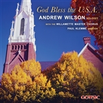 God Bless the U.S.A. - Andrew Wilson and the Willamette Master Chorus, Paul Klemme, director - Digital Download