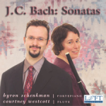 J.C. Bach: Sonatas for flute and fortepiano - Courtney Westcott - Byron Schenkman