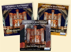 Buxtehude Organ Works - The Complete Collection/Hans Davidsson