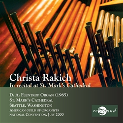 In Recital at St. Mark's Cathedral - Rakich