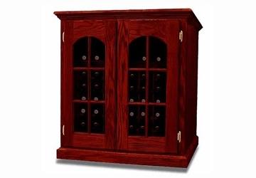 La Cache Wine Credenza : Wci 2 door credenza with raised molding window doors