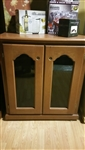 Showroom - 2 Door Petite Credenza Refrigerated Wine Cabinet