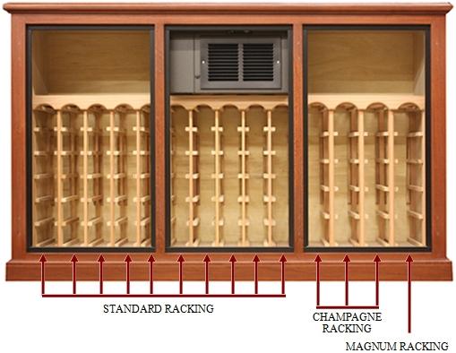 La Cache Wine Credenza : Wine room furniture chic bar home