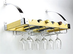 Columbia Wall/Ceiling Rack - 6 Bottles