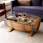 Recycled Barrel Coffee Table