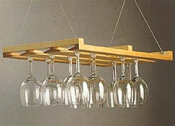 Berkeley Hanging Stemware Rack