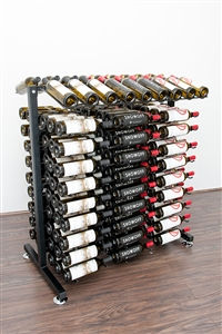 180-Bottle Island Display Rack by VintageView