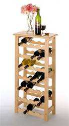 Beechwood Wine Rack
