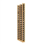Double Deep 1 Column Wine Rack