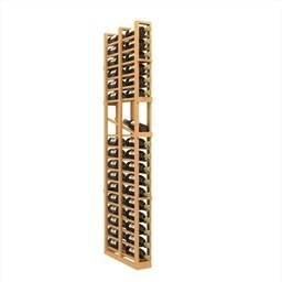 Double Deep 1 Column Wine Rack Display
