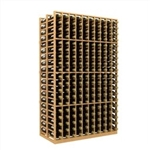 Double Deep 10 Column Wine Rack