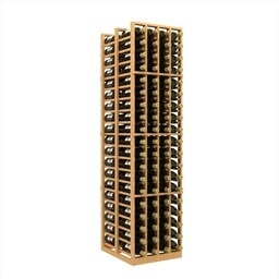Double Deep 4 Column Wine Rack