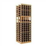 Double Deep 5 Column Wine Rack Display