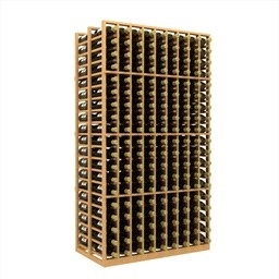 Double Deep 9 Column Wine Rack