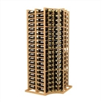 Double Deep Curved Corner Standard Wine Rack
