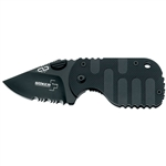 Boker Plus Subcom F Black Pocket Knife # 01BO586