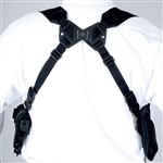 Elite M/ASH Horizontal Dual Assembly Shoulder Holster