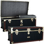 "Mercury Luggage 36"" Oversize Steamer with Wheels & Tray"