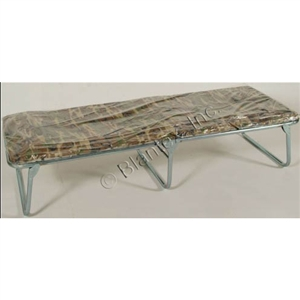 "Blantex 25.5"" Folding LowBoy Cot with Camo Matt, XB-22"