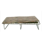 "Blantex 33.5"" Folding Cot with Camo Mat, XB-6"