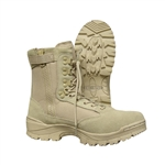 Tru-Spec Tactical Side Zipper Boots - Tan