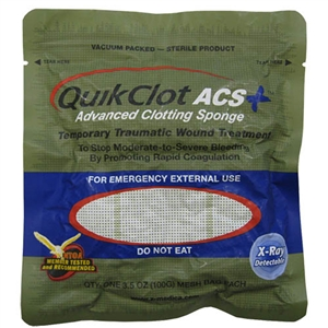 QuikClot Advanced Clotting Sponge (ACS)