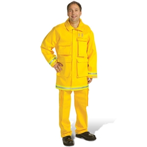 Topps Wildland Fire Fighting Jacket, Indura Ultra Soft