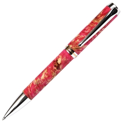 Baron Ball Point Pen - Pink Box Elder