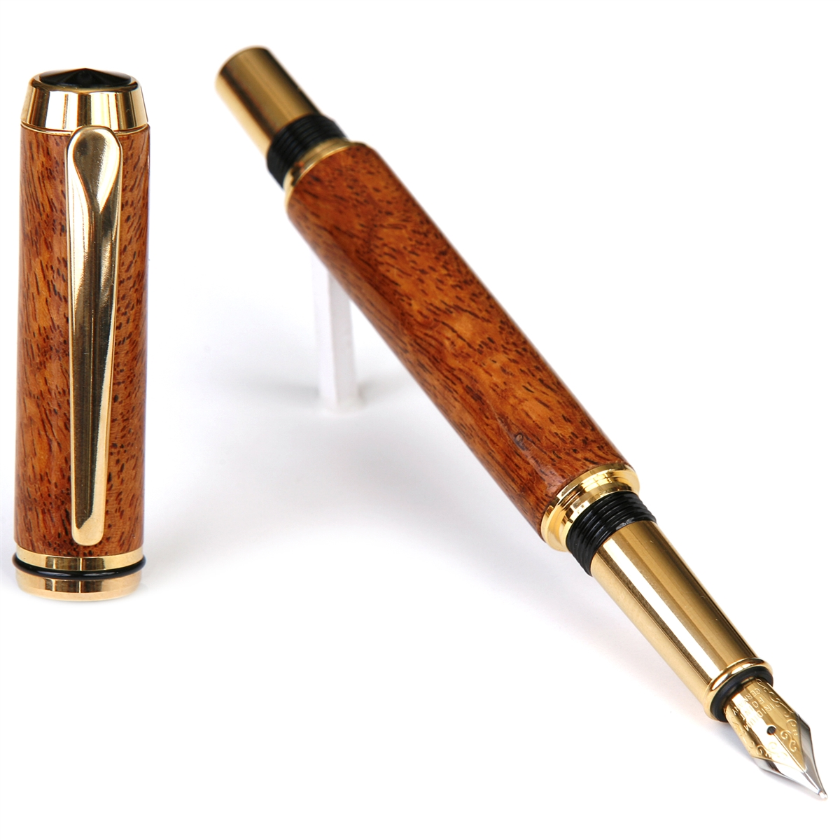 Baron Fountain Pen - Praduak Tiger Grain