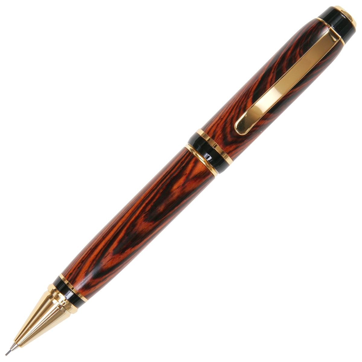 Cigar Twist Pencil - Cocobolo