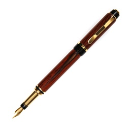 Cigar Fountain Pen - Burmese Rosewood