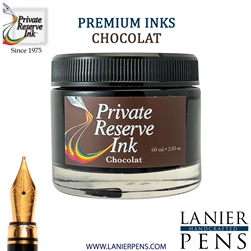 Private Reserve Chocolat Fountain Pen Ink Bottle 32-ch - Lanier Pens