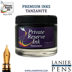 Private Reserve Tanzanite Fountain Pen Ink Bottle 07-tz - Lanier Pens
