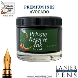 Private Reserve Avacado Fountain Pen Ink Bottle 12-av - Lanier Pens