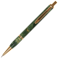 Longwood Pencil - Green Maple Burl