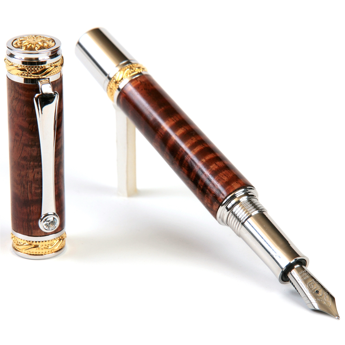 Majestic Fountain Pen - Hawaiian Koa