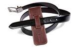 Leather Pen Holster – Brown Double