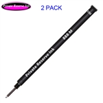 2 Pack - Private Reserve Ink Schmidt 888 Rollerball Refill Black Medium Tip