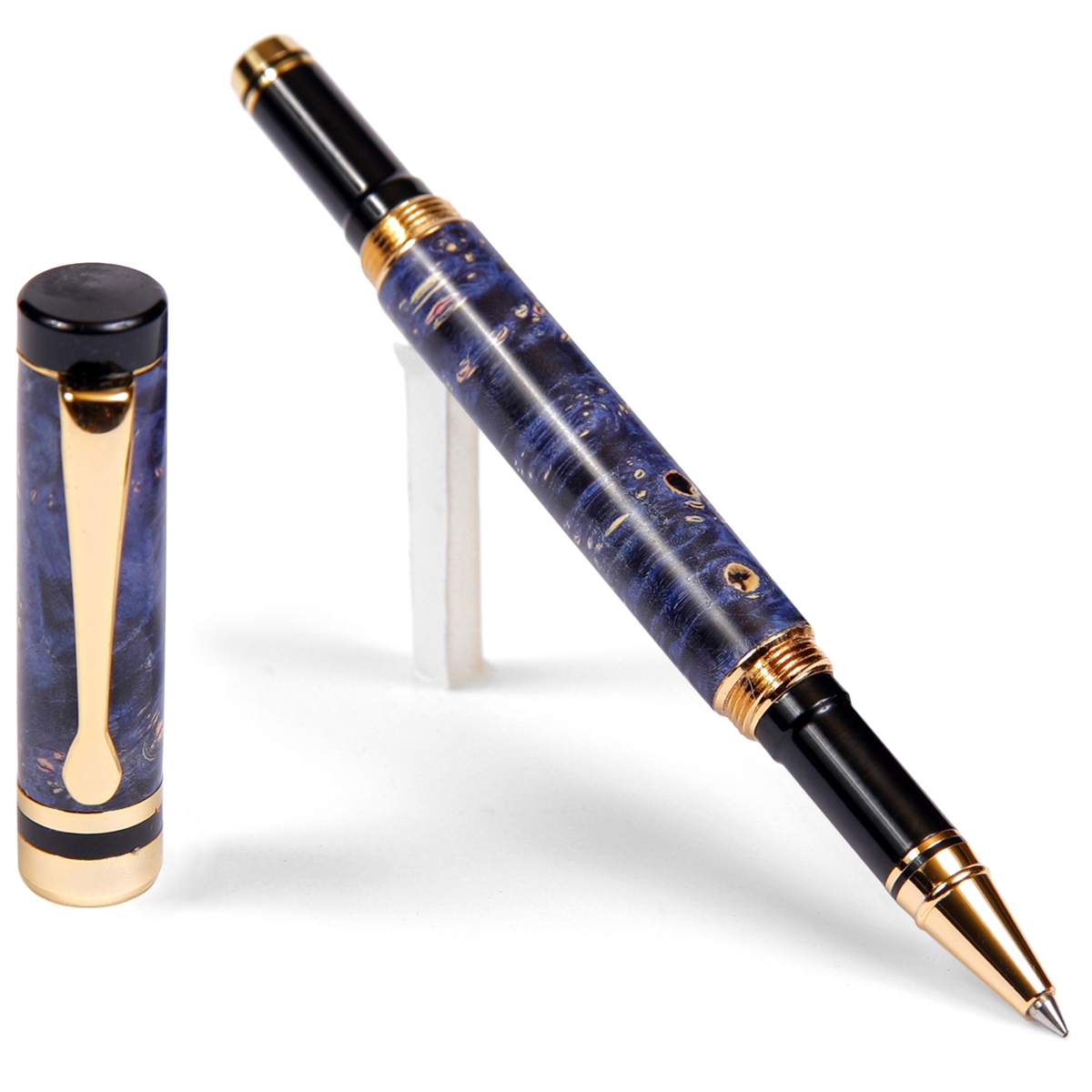 Classic Rollerball Pen - Blue Box Elder
