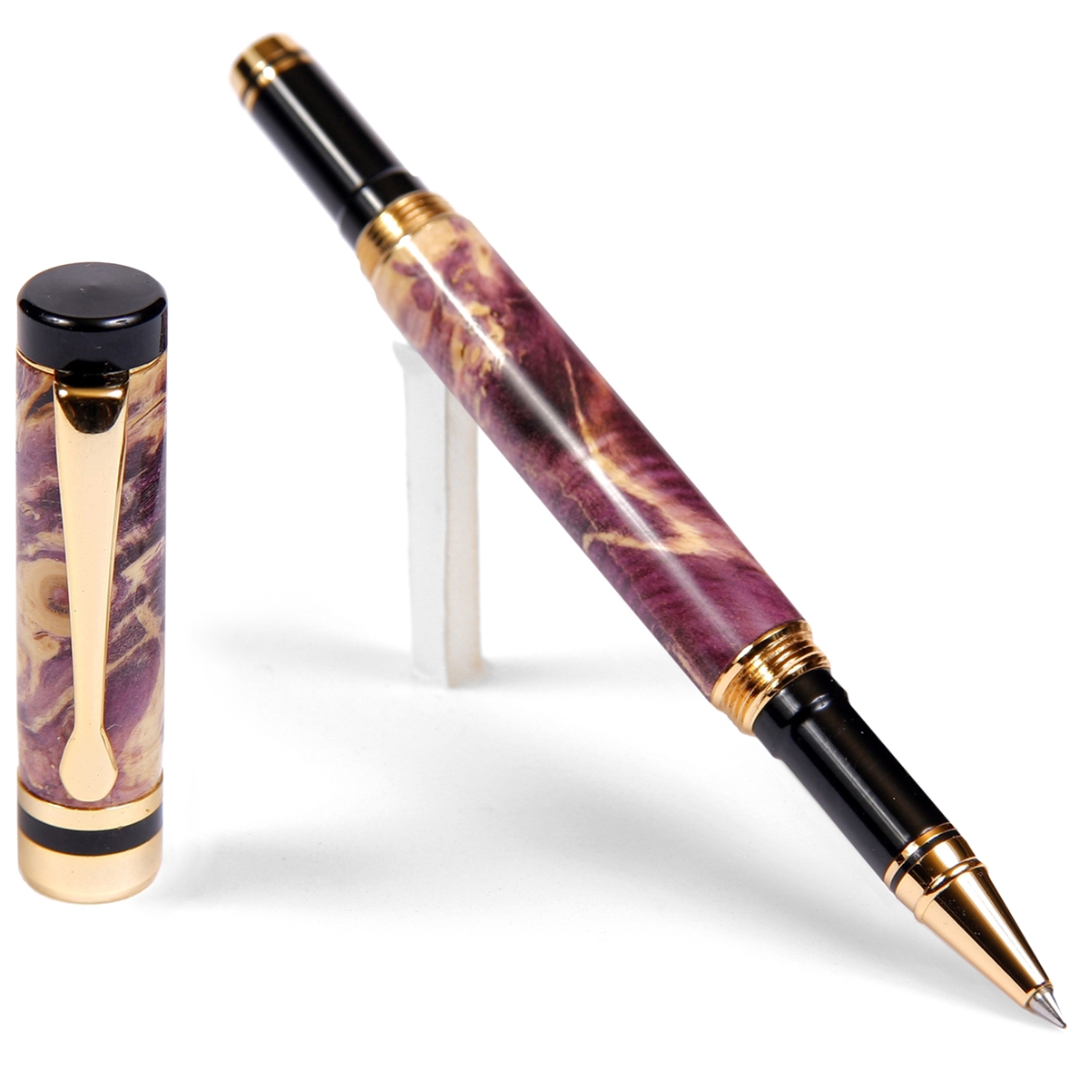 Classic Rollerball Pen - Purple Box Elder