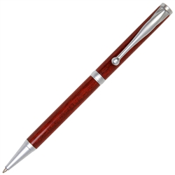 Slimline Twist Pen - Bloodwood