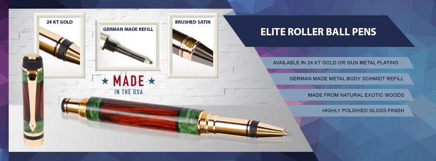 Use Classic Elite Rollerball Pens from Lanier Pens to Leave
