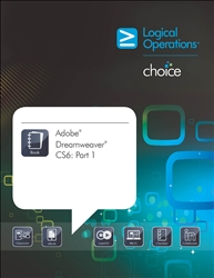 LogicalCHOICE Adobe Dreamweaver  CS6: Part 1 Print/Electronic Training Bundle