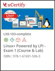 CompTIA Linux+ Exam 1 (LX0-103) Lab and Courseware