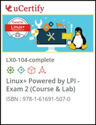 CompTIA Linux+ Exam 2 (LX0-104) Lab and Courseware