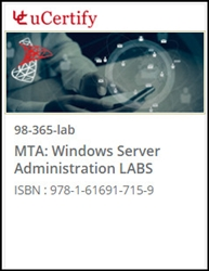 MTA: Windows Server Administration (98-365) Lab