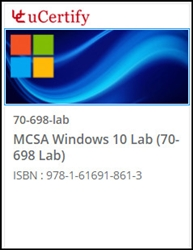 MCSA Windows 10 (70-698) Lab