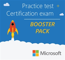 Microsoft Booster Pack: Certification exam + practice test